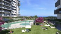 New build apartments in Campoamor with sea views