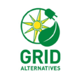 GRID Alternatives logo image, a Climate Cents partner fighting climate change locally