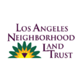 LA Neighborhood Land Trust logo image, a Climate Cents partner fighting climate change locally