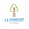 LA Compost logo image, a Climate Cents partner fighting climate change locally