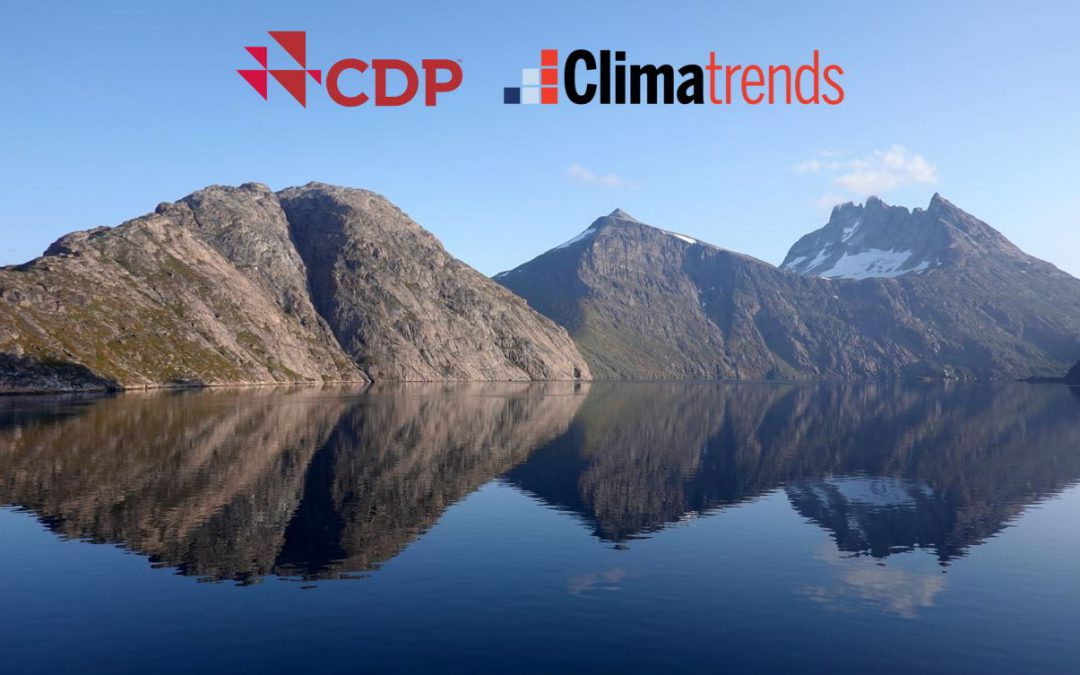 Climatrends is CDP accredited