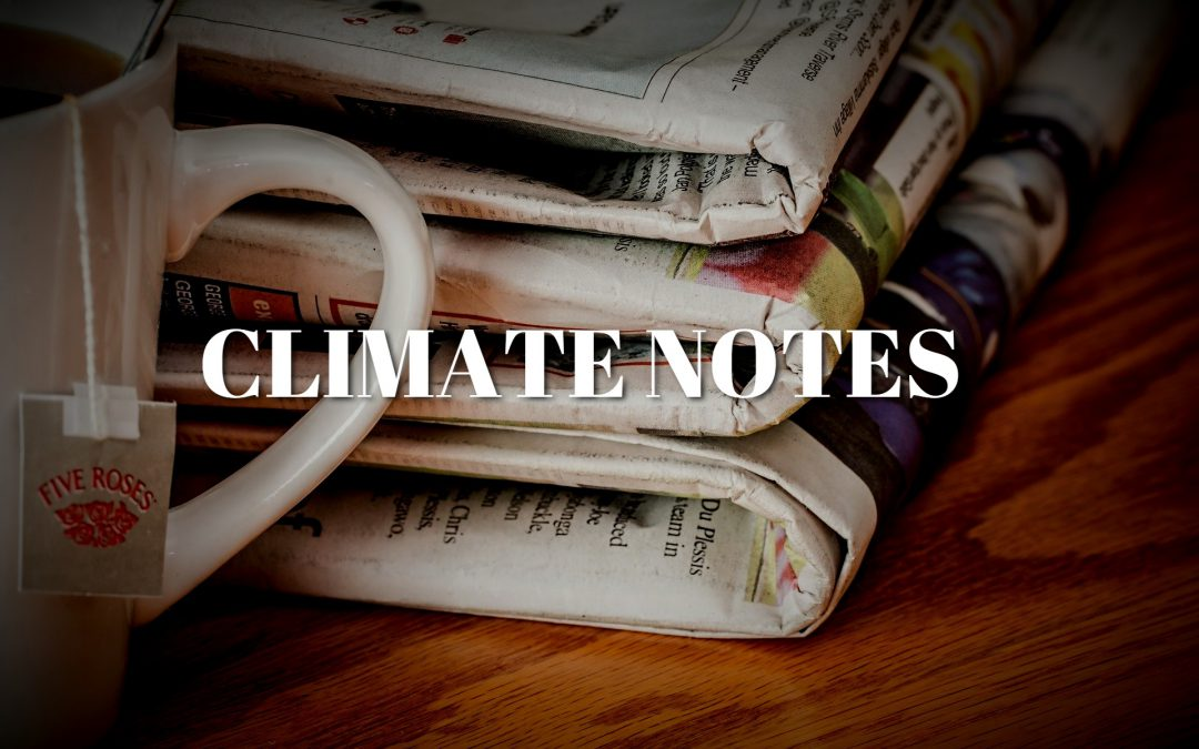 Climate Notes – July 28th, 2020