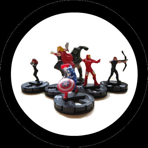 Clixmen-Avenger-heroclix-logo