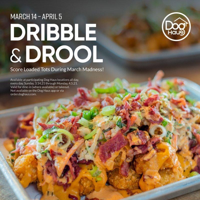 Dribble & Drool at Dog Haus Arlington Highlands