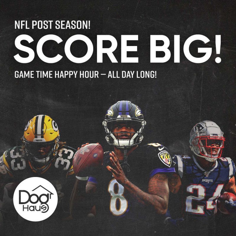 NFL Game Time Happy Hour