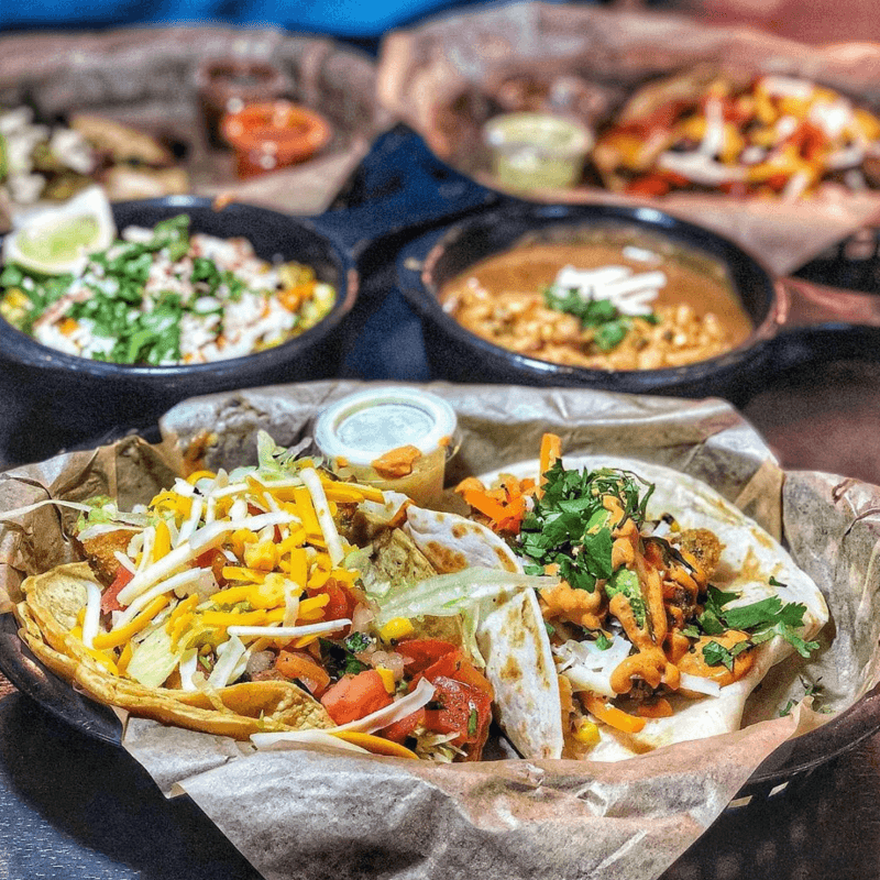 Enjoy a dinner at Torchy's Tacos!