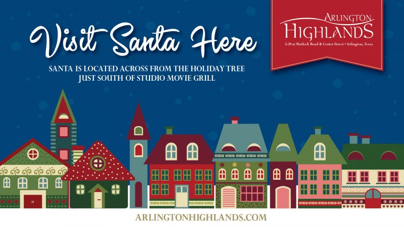 Visit Santa Here!