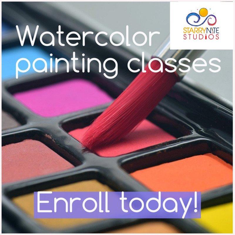 Watercolor Paint Classes