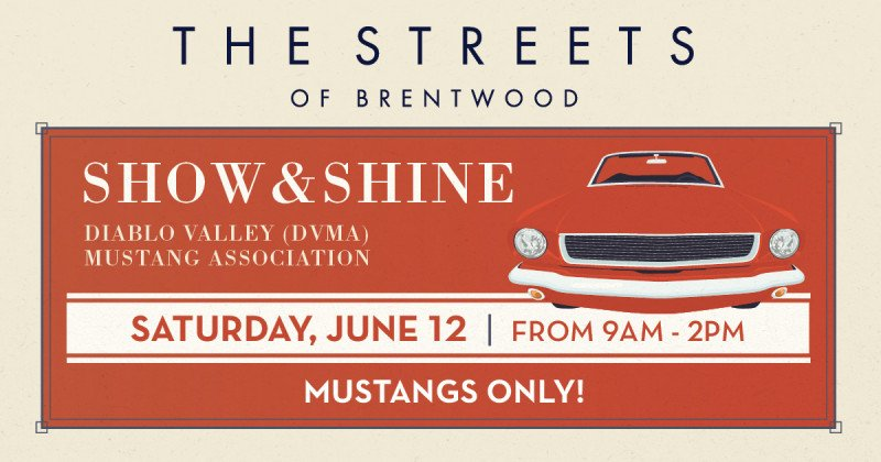 Show & Shine Car Show - Mustangs Only!