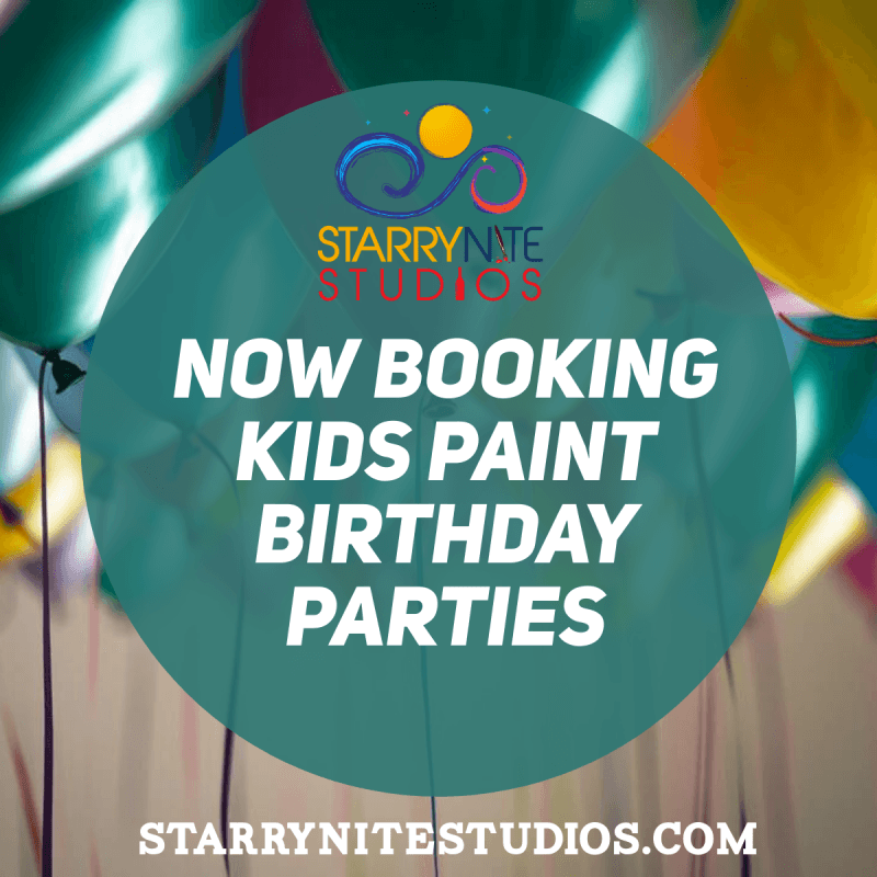 Private kids birthday parties