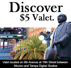 Centro YBOR Discover Valet Parking