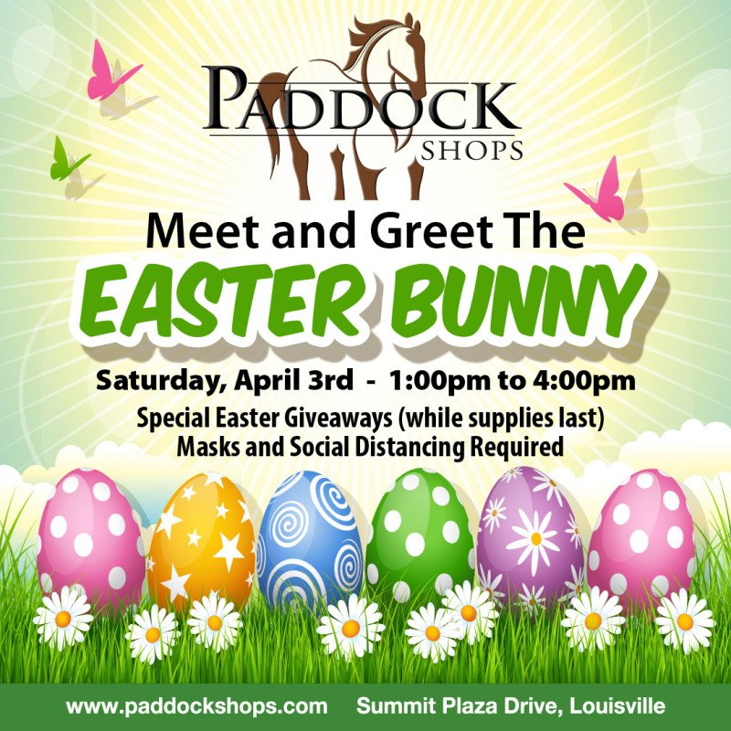 Pop-Up Meet & Greet with the Easter Bunny!