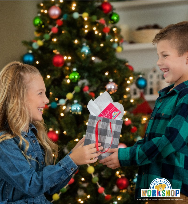 Merry Gifting! Shop Gifts with Heart at Build-A-Bear Worksho