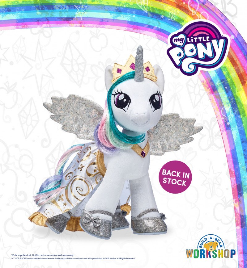 Back by Popular Pony Demand: Make Your Own Princess Celestia