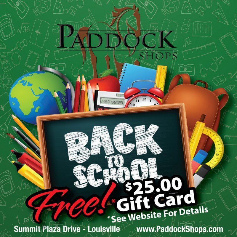 Back to School Shopping at Paddock Shops