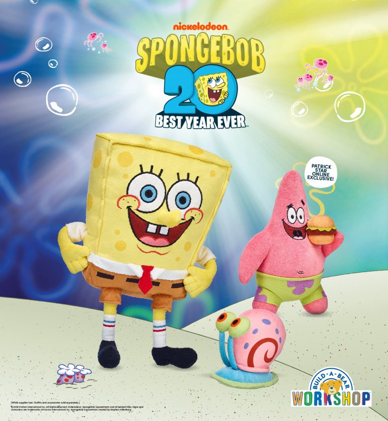 Are You Ready, Kids? SpongeBob SquarePants is at Build-A-Bea