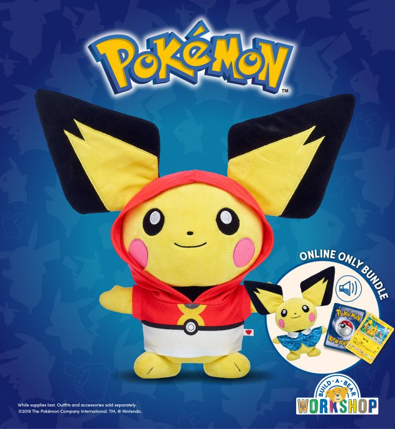 Pokémon Trainers! The Adorable Electric-Type Pichu Has Arriv