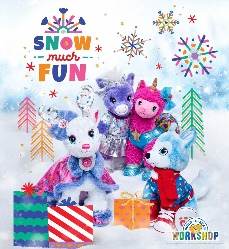 It's SNOW Much Fun Going on Adventures at Build-A-Bear Works