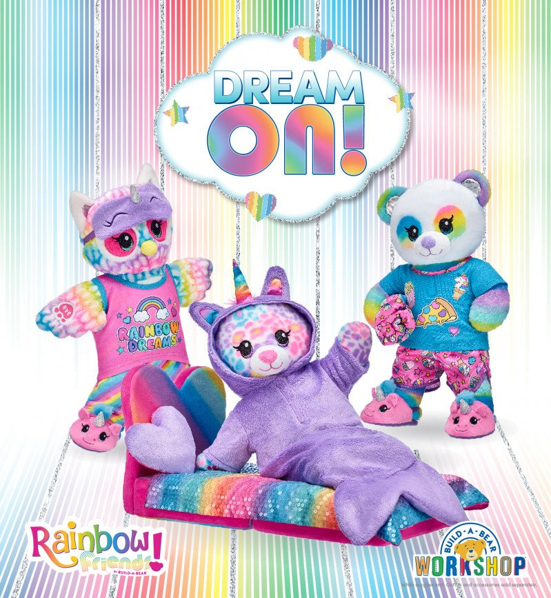 Dream On with NEW Rainbow Friends at Build-A-Bear Workshop!®