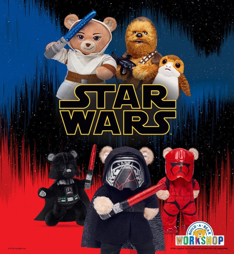 Star Wars™ arrives at Build-A-Bear Workshop