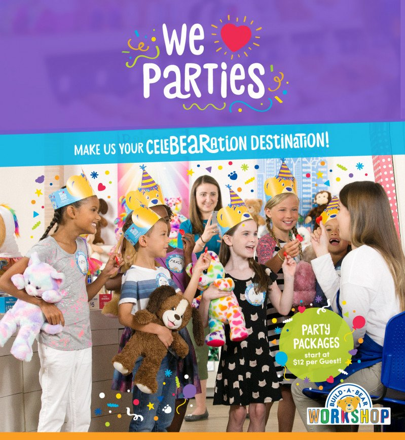 Make Build-A-Bear Workshop® Your CeleBEARation™ Destination!