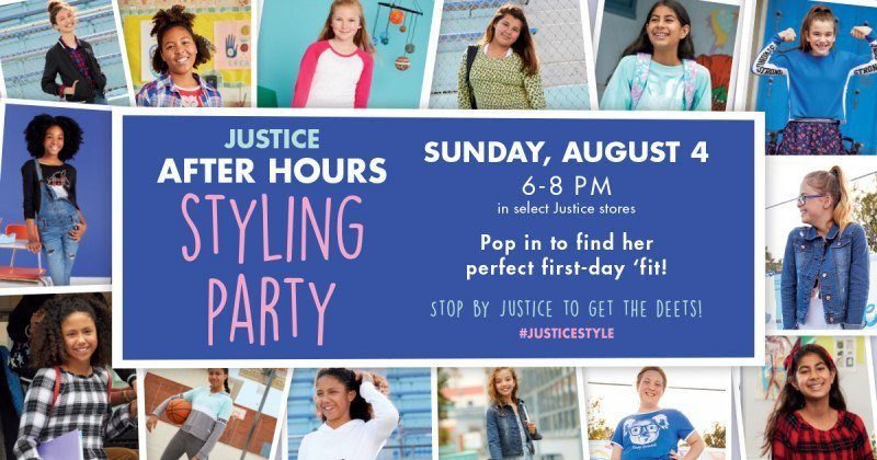 Justice After Hours Styling Party