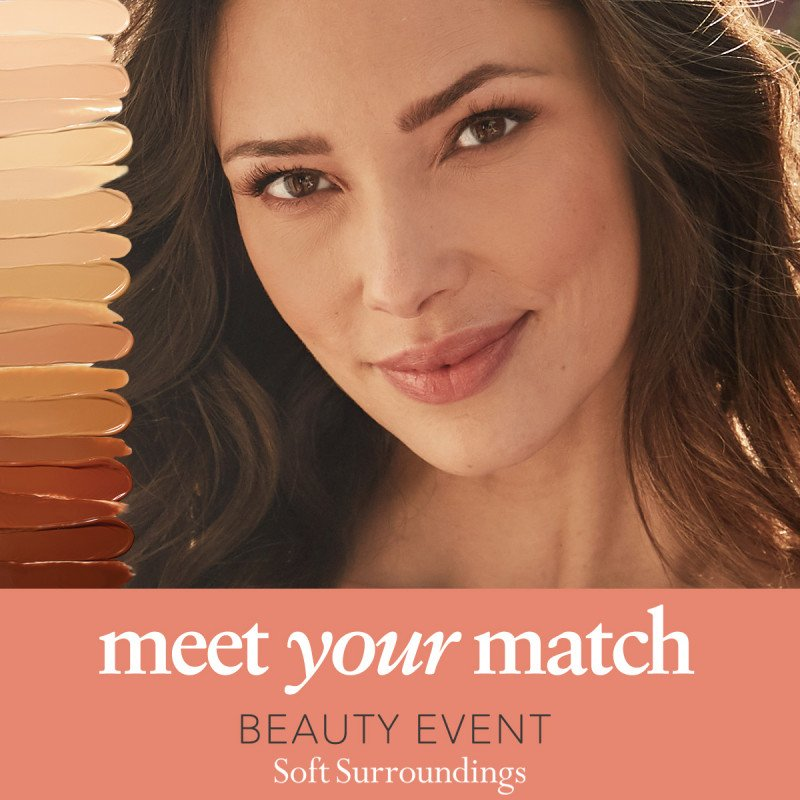 Soft Surroundings Meet Your Match Beauty Event
