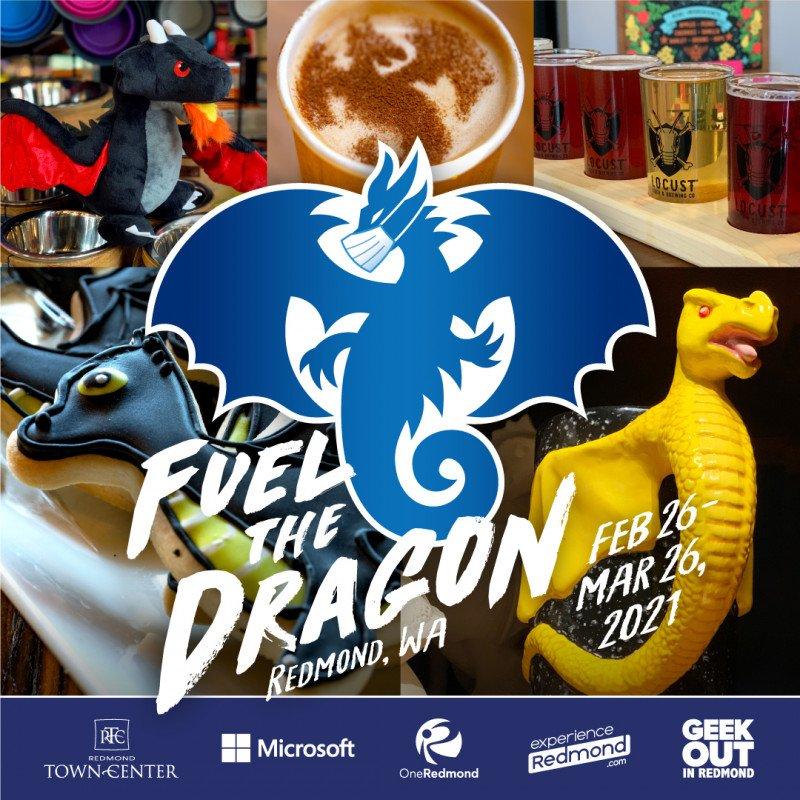 Fuel the Dragon: Redmond Passport Game