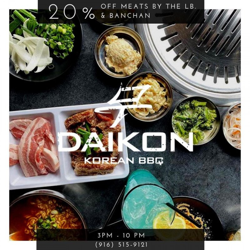 Daikon Korean BBQ