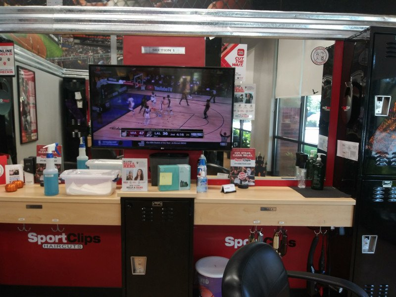 Sport Clips at the Natomas location is happy to say, WE'RE O