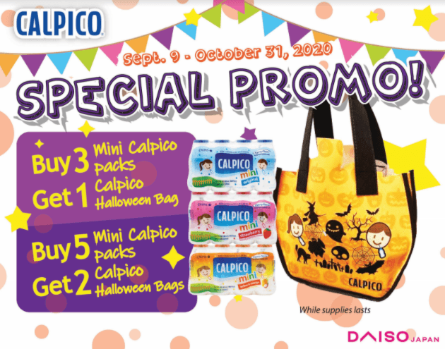 Mini Calpico Drinks Halloween Special Promotion!