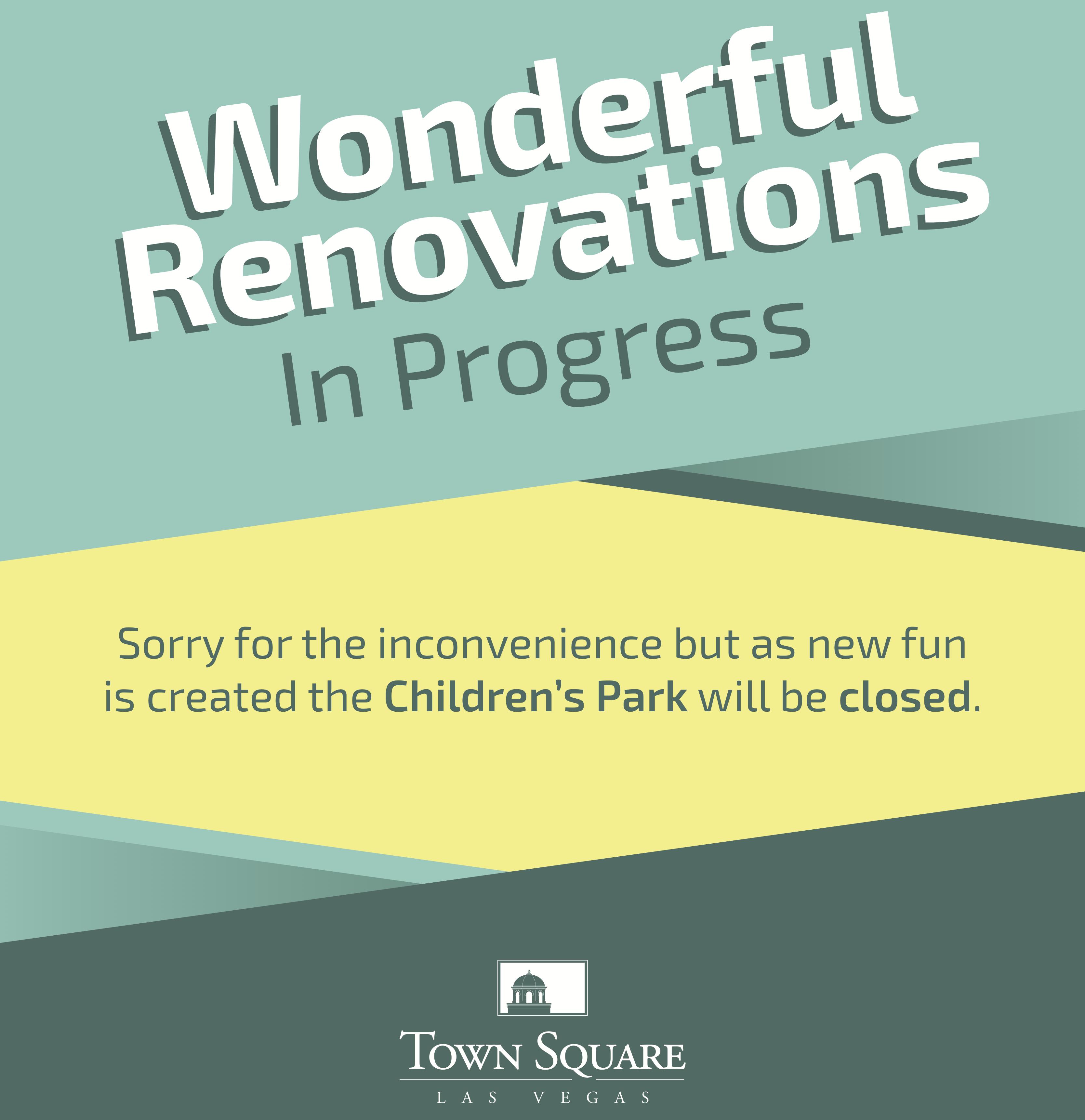 Childrens Park Renovations