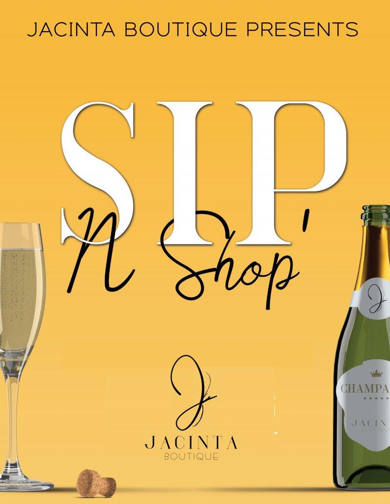 Sip and Shop with Jacinta Boutique