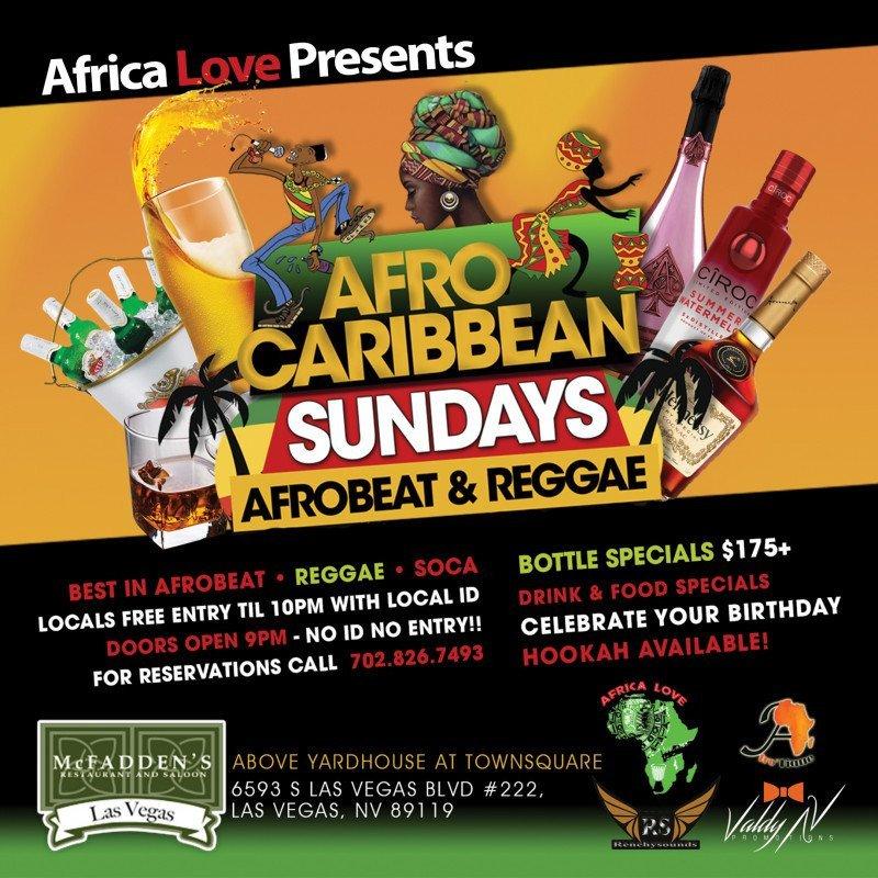Afro-Caribbean Sundays