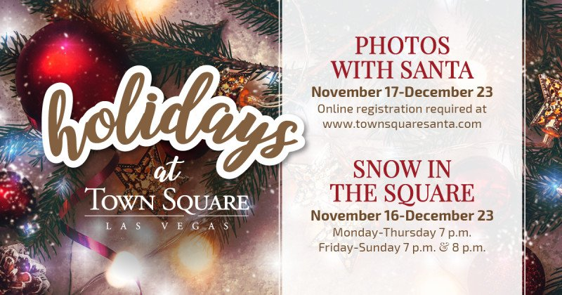 Holidays at Town Square