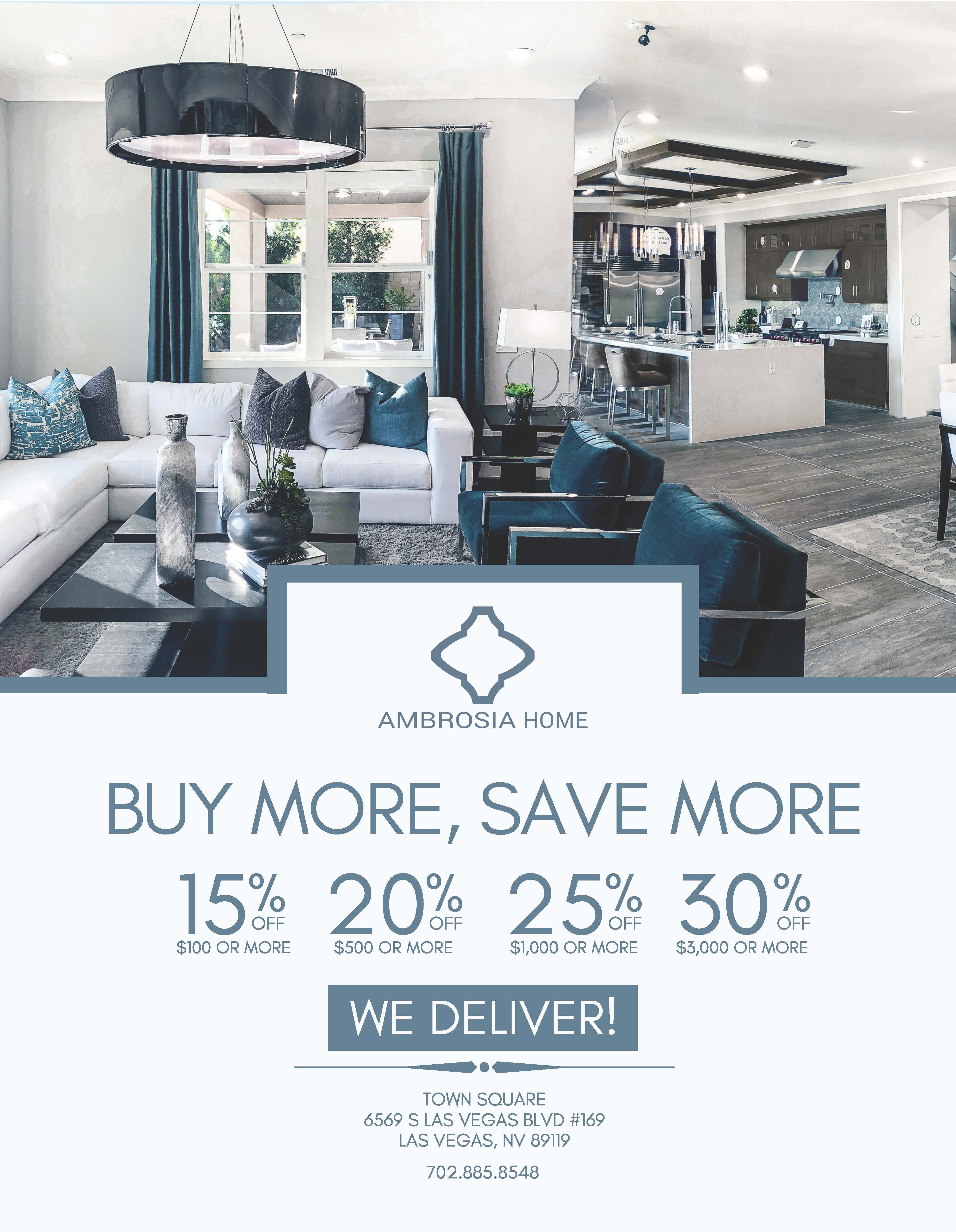 Buy More ~ Save More ~ Spring Sale