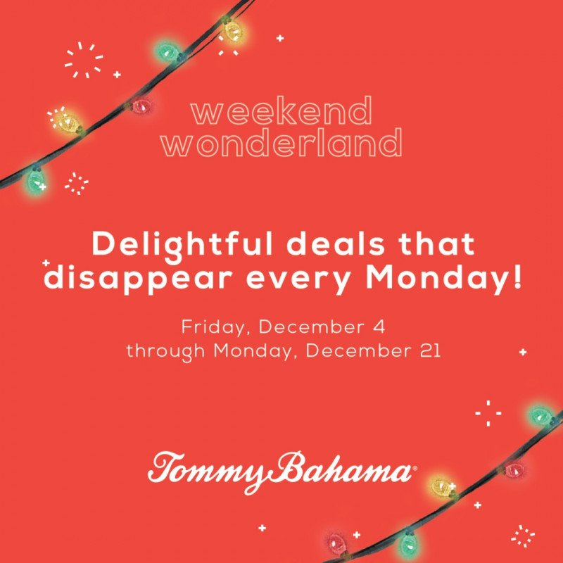 Delightful deals that disappear every Monday!