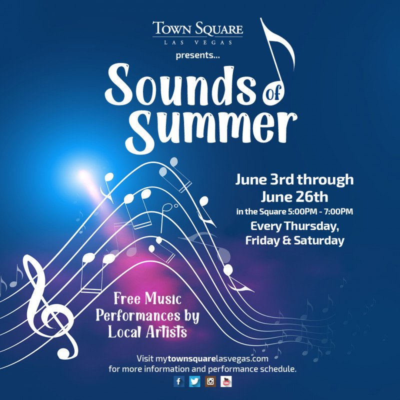 Spring into Summer at Town Square Las Vegas!