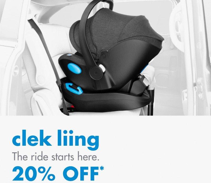 Clek Liing Car Seat Sale