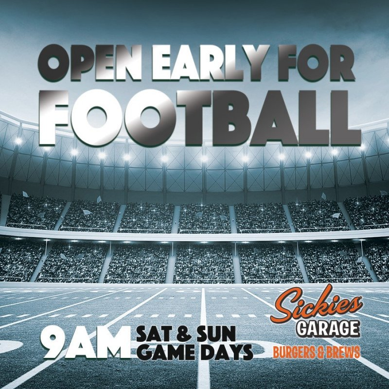Open Early for Football Action!