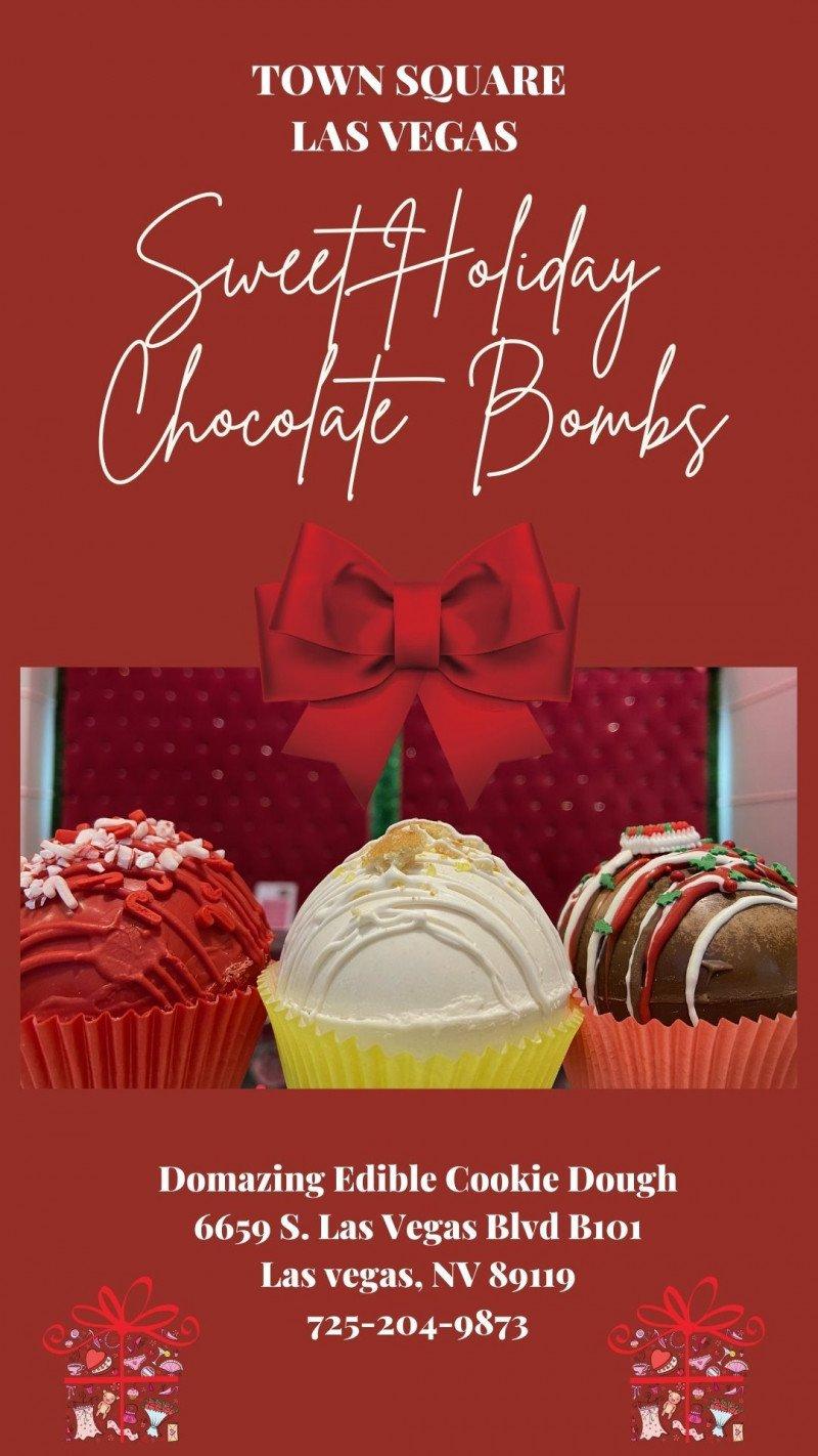 Holiday Chocolate Bombs