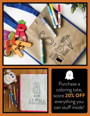 TRICK OR TREAT BAG FOR 20% OFF