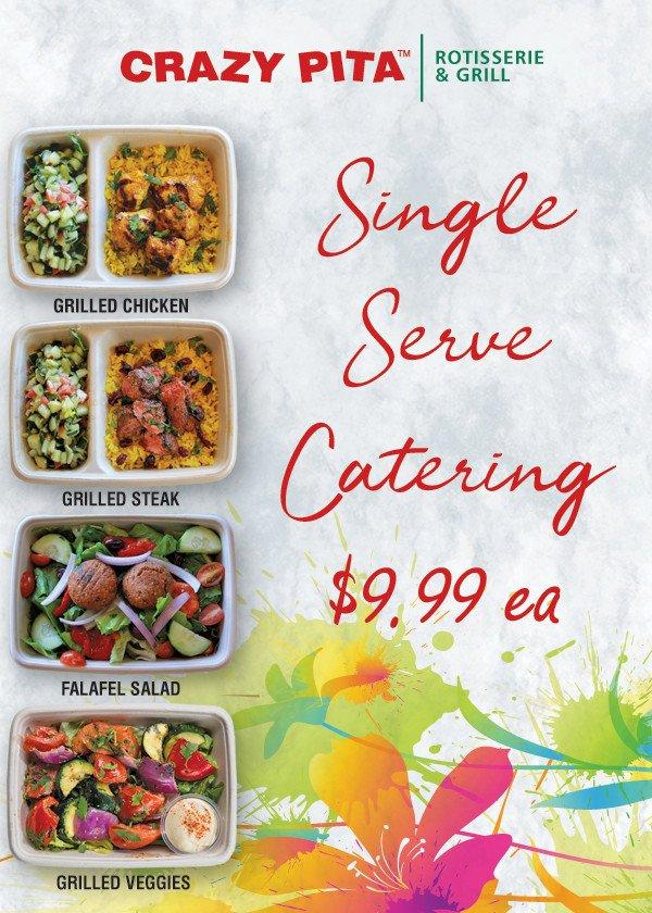 Single Serve Catering