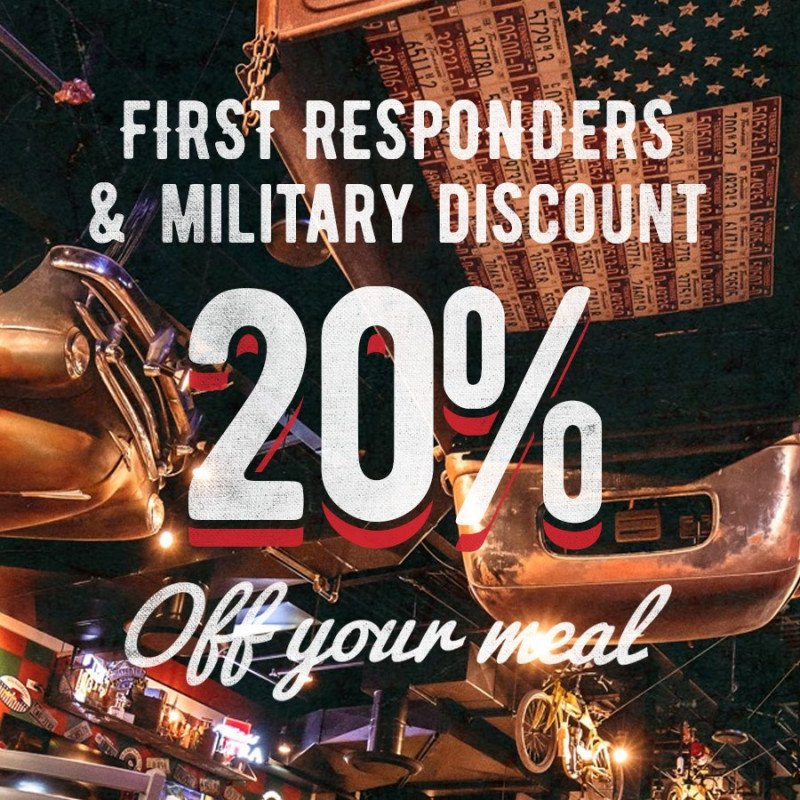 Sickies Garage Offers 20% Discount For Military & First Resp
