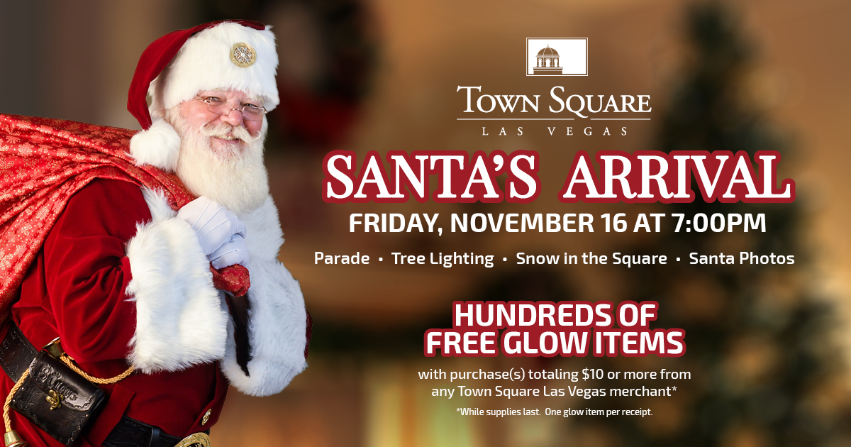 Santa Claus at Town Square