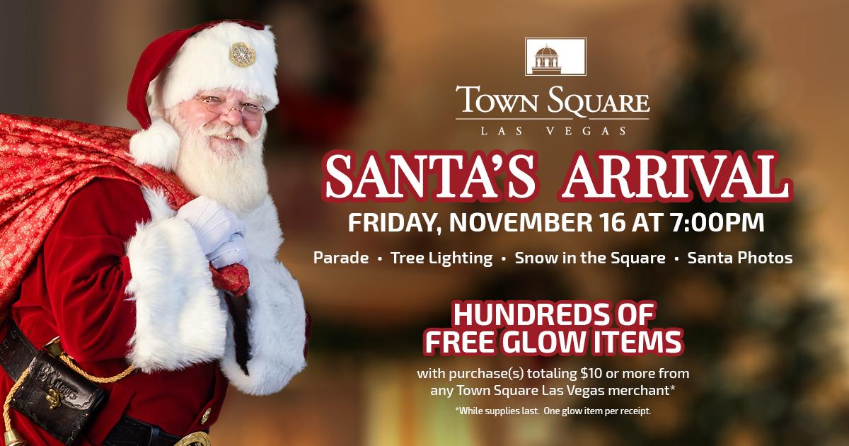 Santa Claus at Town Square