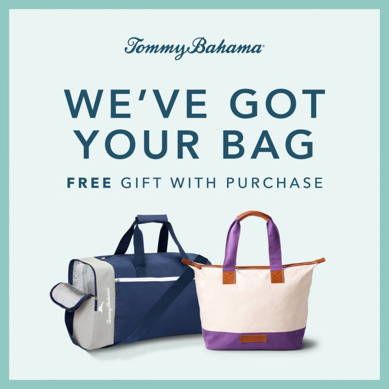 We've Got Your Bag. Free Gift With Purchase