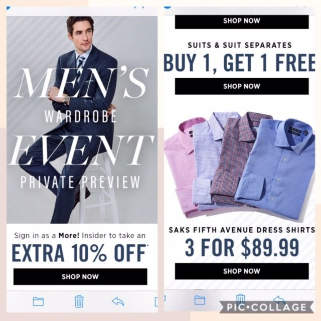 Biggest Men's Wardrobe Event of the Year!