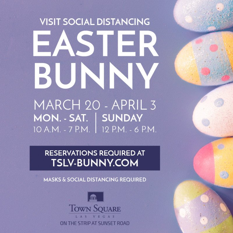 The Easter Bunny is Hopping into Town Square