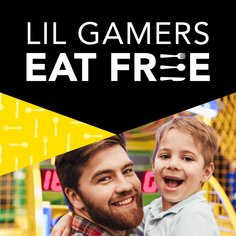 Lil Gamers Eat FREE